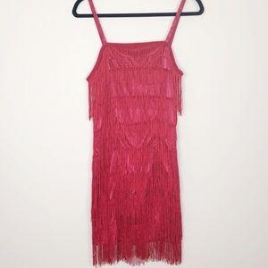 NWT Unique Vintage Fringe Dress